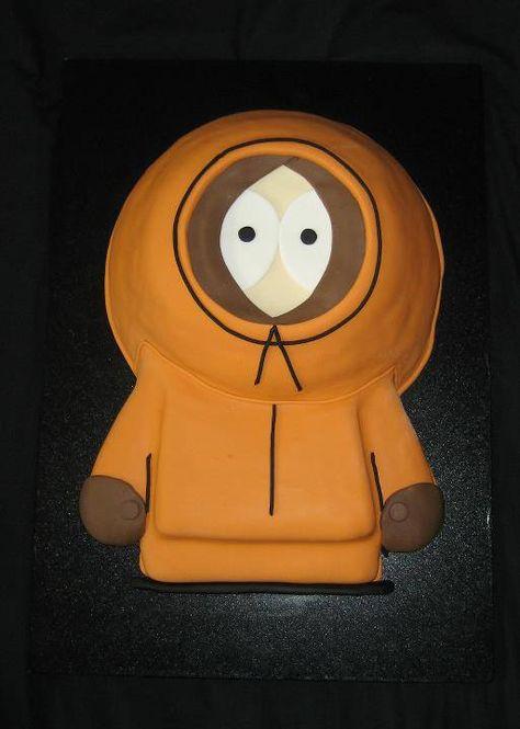 Kenny Cake South Park Park Birthday Birthday Party At Park