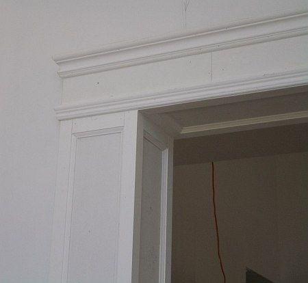 Pilasters can also be used decoratively around fireplaces or instead of normal casings to create an opulent grand entrance for any formal room or doorway. They can stand alone or be integrated with wainscoting, chair rails, baseboards or crown moldings depending on the application. Pilasters are similar to square columns in many ways except that they can stick out no more than 4 inches from the wall with the widest part being the face. They can also be modified to go around or into a corner.