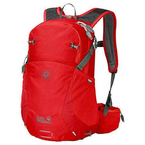 dcad717a828 Jack Wolfskin Moab Jam Rucksack Fiery Red 18 L *** See this great  product.(This is an Amazon affiliate link and I receive a commission for  the sales)