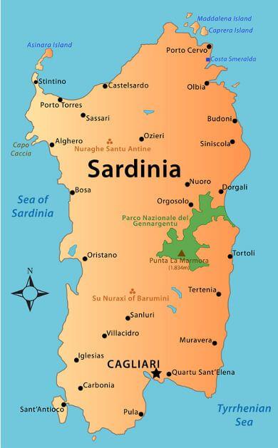 Rejseguide Til Sardinien Sardinien Rejseguide Rejser