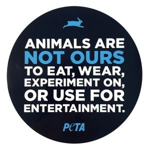 Help Animals Shop Vegan And Vegetarian Clothing Accessories And Other Merchandise Find Peta T Shirts Animal Rights Peta Mission Statement Bumper Stickers