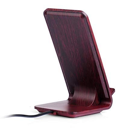 Bovon Chargeur Sans Fil Iphone X Chargeur A Induction Wireless Charger Support De Charge Pour Iphone X 8 8 Plus Station De Cha Station De Charge Iphone Samsung