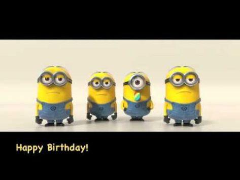 Bester Minions Happy Birthday Song Youtube Geburtstagslieder