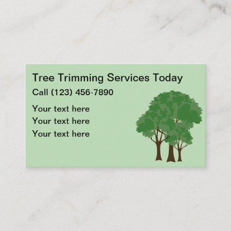 Local Tree T Service Business Card