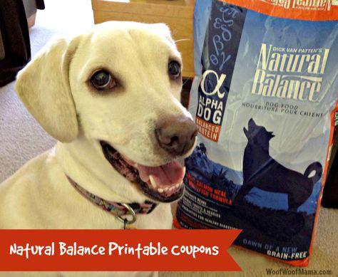 Natural Balance Dog Food Coupons >> Natural Balance Printable Coupons For Dog Food Cat Food And