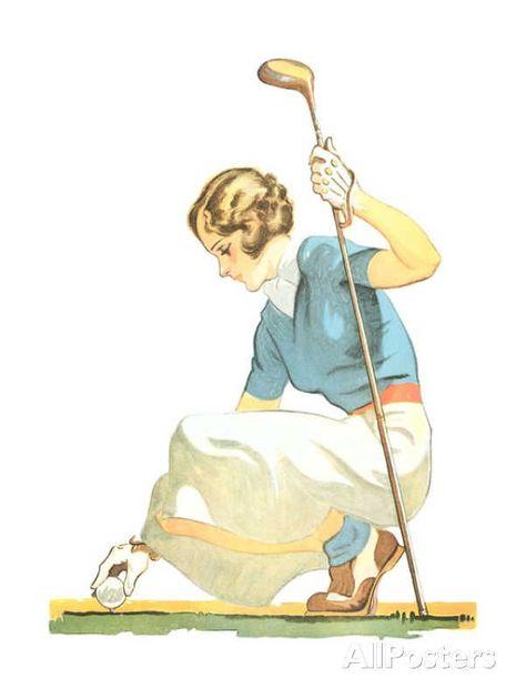 Golf Affiches par Marv Brehm sur AllPosters.fr