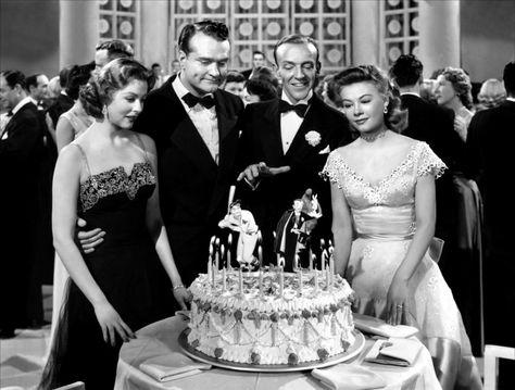 """Three Little Words (""""Três Palavrinhas"""", 1950). With  Arlene Dahl, Red Skelton, Fred Astaire, Vera-Ellen."""