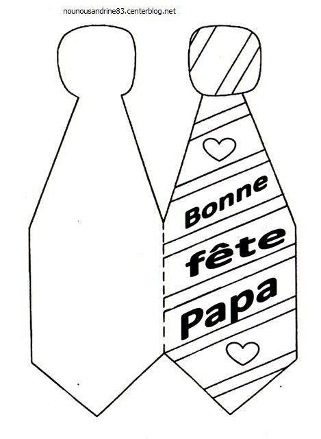 Activite Manuelle Fete Des Papas La Cravate Activite