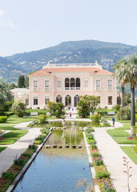 HOTEL DU CAP-EDEN-ROC & VILLA EPHRUSSI DE ROTHSCHILD