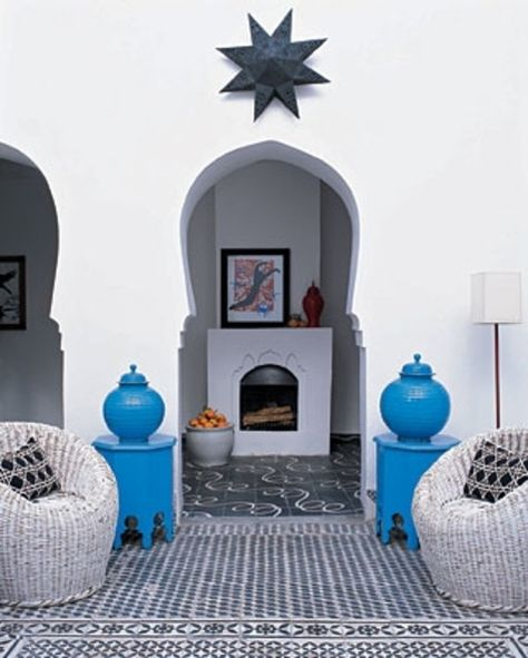 The house of friends of mine (from Popham Design) in Marrakech.
