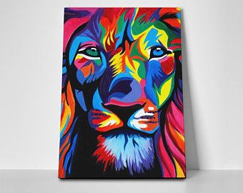 Lion Poster or Canvas
