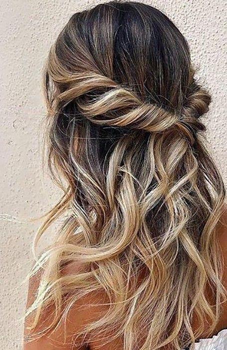 98 Best Cute Hairstyles For Long Hair In 2020 Glamorous Wedding Hair Hair Styles Easy Hairstyles For Long Hair