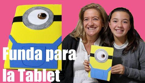 Funda para la tablet de Minion. Minion tablet case