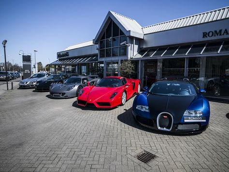 Romans International Of Surrey Uk Supercar Dealers Super Cars Prestige Car Luxury Cars