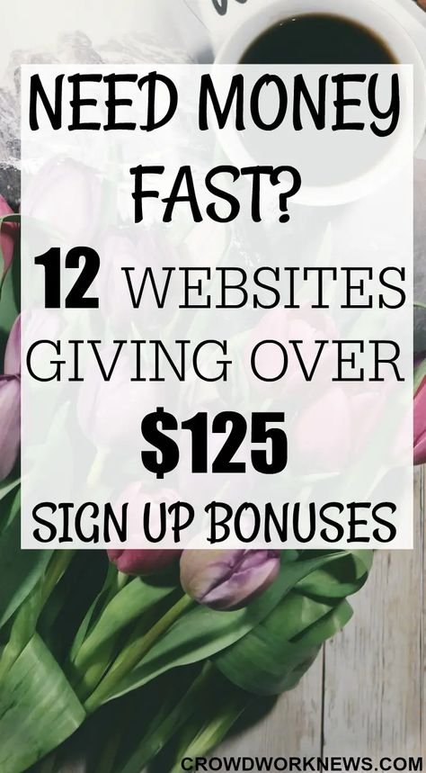 12 Simple Ways to Make Money Now (Earn over $125 Free Money Fast)