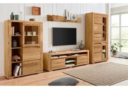 Places Of Style Wohnwand Gronfeld Set 4 Tlg Otto In 2020 Wohnen Haus Deko Wohnzimmermobel Holz