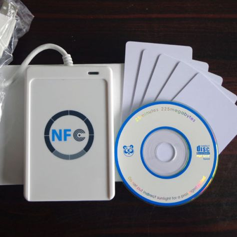ACR122U-A9 RFID Smart NFC Reader Writer+SDK/&5*MF Cards For MAC Android Linux OS
