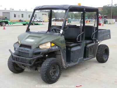 Ad Ebay Url 2015 Polaris Ranger Crew Efi 570 4wd Utility Vehicle Cart Utv Bidadoo In 2020 Polaris Ranger Crew Polaris Ranger Utility Vehicles