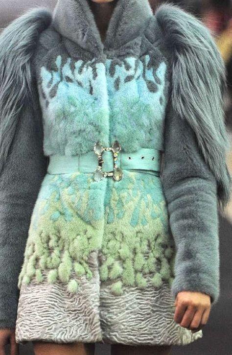 MOst amazing fur coat I've ever seen!