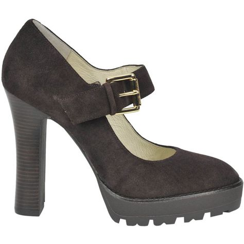 3a1d69b0bb84 Michael Michael Kors Flynn Suede Mary Jane Shoes ( 146) ❤