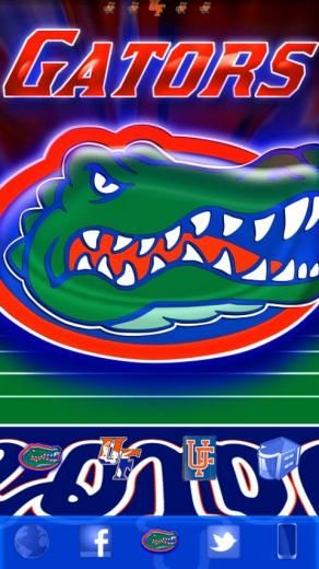49 Florida Gators Wallpaper Iphone On Wallpapersafari Florida Gators Wallpaper Florida Gators Gator