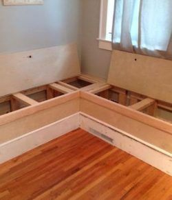 Build Your Own Breakfast Nook With Storage Kitchen Seating Dining Nook Home Decor