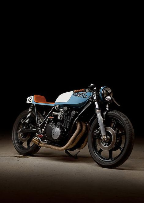 1979 yamaha xs1100 cafe racer - google search | cafe' brat