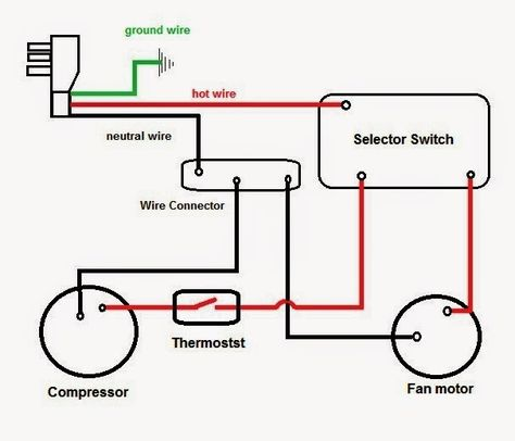 Electrical Wiring Diagrams For Air Conditioning Systems Part Two Electrical Knowhow Electrical Wiring Ac Wiring Electrical Wiring Diagram