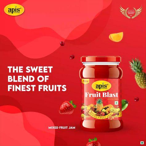 Apis Fruit Blast Jam