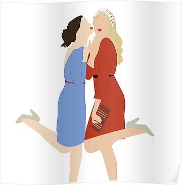 Blair and Serena Poster