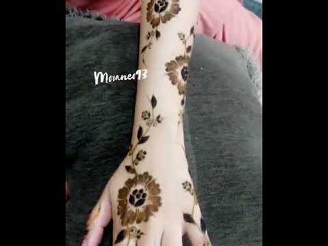 نقش حناء ناعم Youtube Make It Yourself Henna How To Make