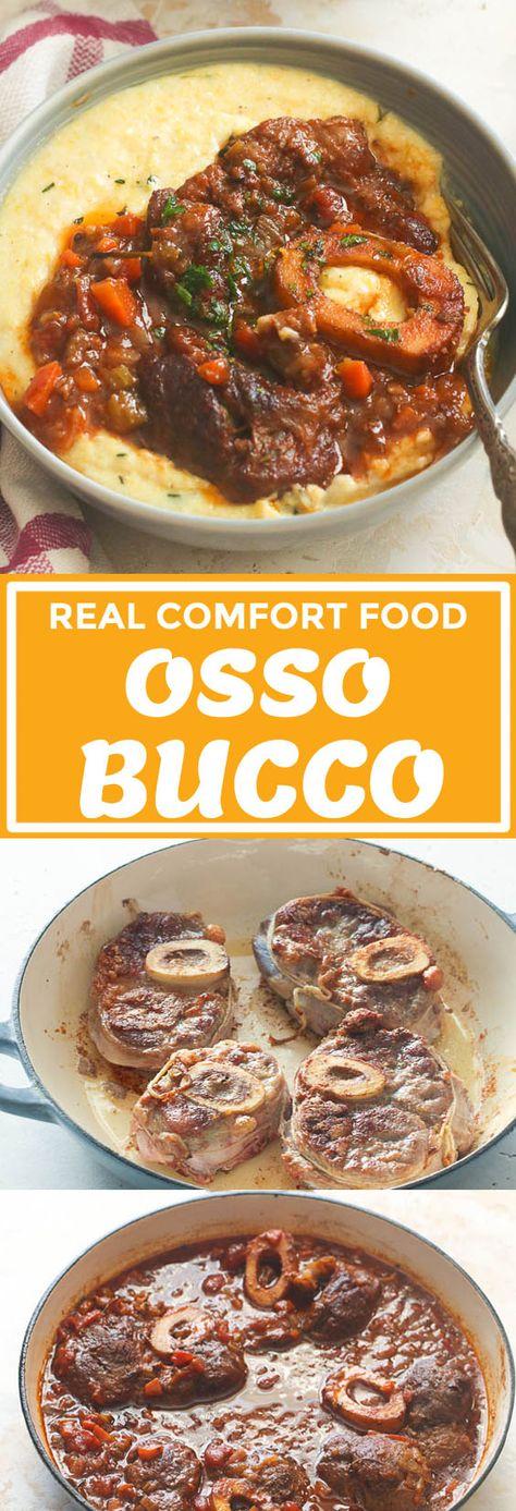 Osso Bucco - Immaculate Bites #recipe #veal #beef #italianfood #oven #dinnerideas #dinnerrecipes
