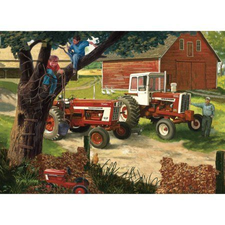 Toys Jigsaw Puzzles Tractors Farm Art