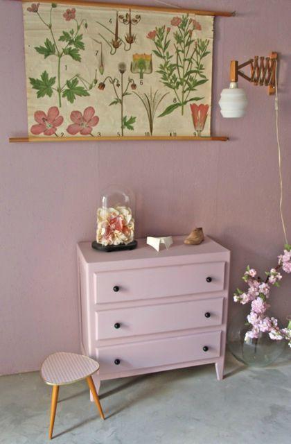 COMMODE VINTAGE ROSE | vintage | Pinterest | Deco chambre enfant ...