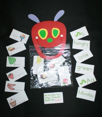 The Very Hungry Caterpillar Activities Packet Free Printables from Teach With Me
