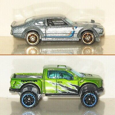 Ad Hot Wheels Custom Ford Maverick Grabber Ford F150 Raptor
