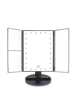 Rio 24 Led Touch Dimmable 3 Way Makeup Mirror With 2 3x