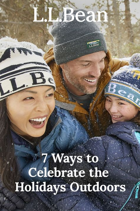 Oh what fun it is outside! Check out these fun, festive ways to bring that holiday spirit outdoors, while staying safe and close to home.