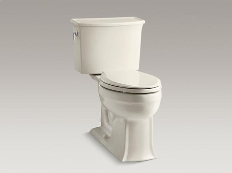 Kohler K 3810 0 Santa Rosa Comfort Height One Piece Compact Elongated 1 28 Gpf Toilet With Aquapiston Flush Technology And Left Hand Tr Innis Toile