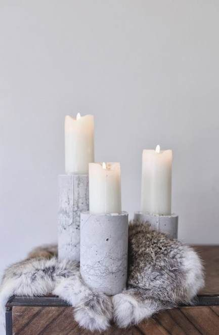 58 Ideas Home Inspiration Diy Candle Holders Concrete Candle Holders Diy Concrete Candle Holders Concrete Candle