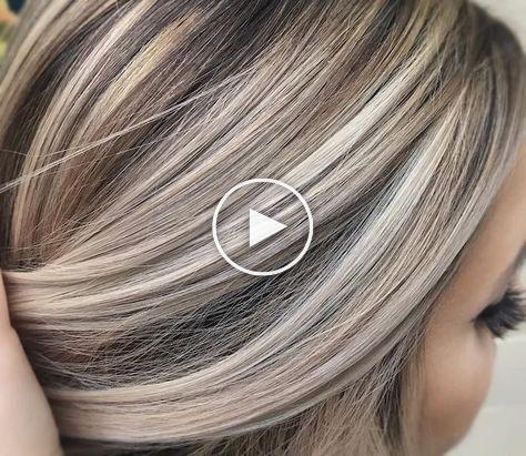 Strähnchen graue machen haare selber Haare selber