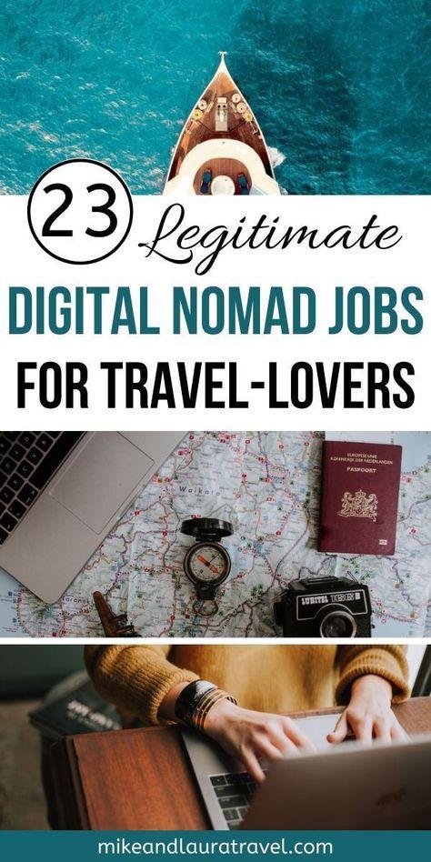 23 Digital Nomad Jobs for Aspiring Travelers - MIKE & LAURA TRAVEL