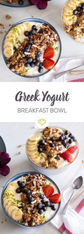 13++ Fruehstueck joghurt mit obst ideen