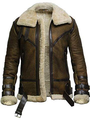 Brandslock Womens Genuine Leather Biker Jacket  Flying Vintage