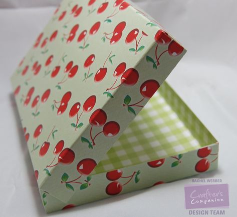 Tutorial: Mini Pizza Box | Crafters Companion Blog