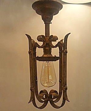 Antique Pendant Lights Set Of 4