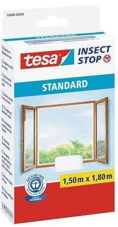 standard ablakokhoz való tépőzáras szúnyogháló egy költséghatékony természetes szúnyogriasztó, amely hatékonyan megvédi otthonát a bosszantó bogaraktól, legyektől, pókoktól, szúnyogoktól és egyéb rovaroktól  tépőzáras hátoldalú öntapadó szalaggal rendelkezik, amely az ablak keretére tapad és szépen a helyén tartja a szúnyoghálót  az öntapadó szalag kiváló tapadást biztosít, de bármikor eltávolítható  a szúnyogháló pontosan az ablakkerethez szabható, és lehetővé teszi az ablak problémamentes nyit