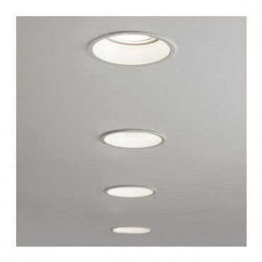 1249010 Minima Round Fixed Fire Rated Downlight Downlights Recessed Ceiling Recessed Downlights