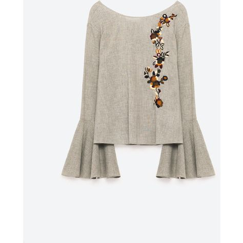 50a2058013d97 List of Pinterest embroidered top zara united states pictures ...