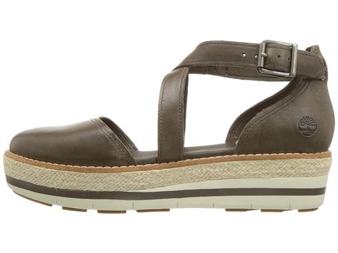 9c43aac844e5b Timberland Emerson Point Closed Toe Sandal Women s Sandals Olive Full Grain